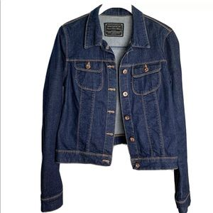Women's ZARA | Dark Jean Denim Jacket M